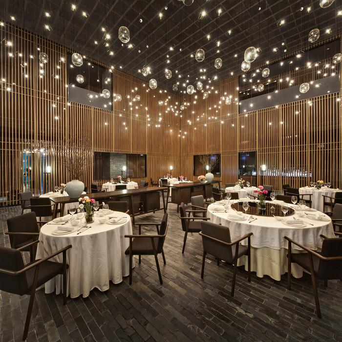 restaurant design lighting: the feast (china) / neriu0026hu design u0026 research. BYQQRAT