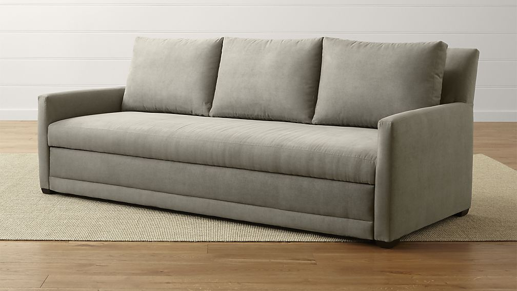 For comfort and style use a sleeper sofa