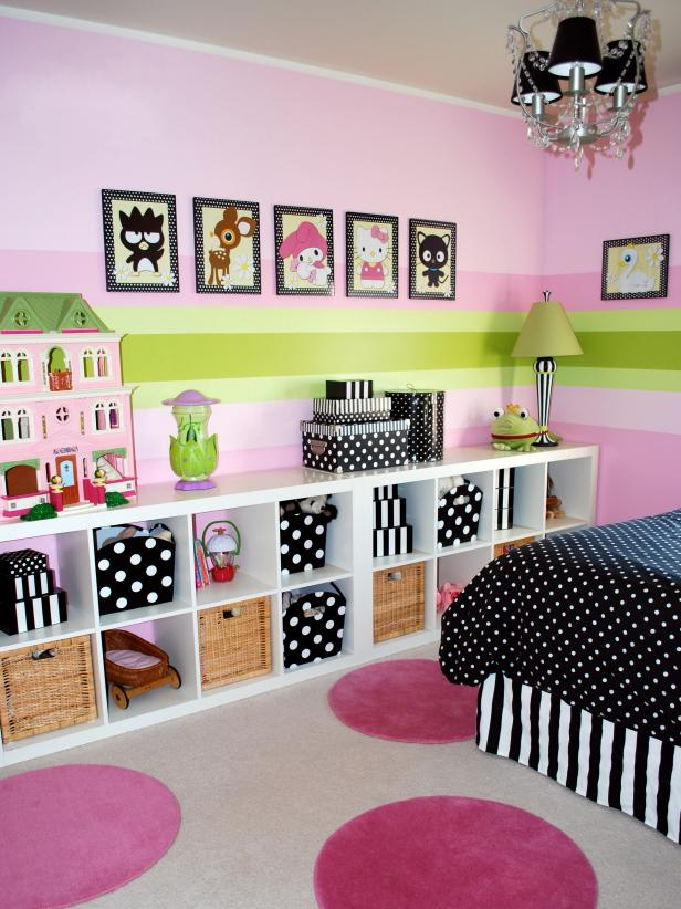 room decor ideas girlsu0027 bedroom with modular storage bookcase CXCXGKL