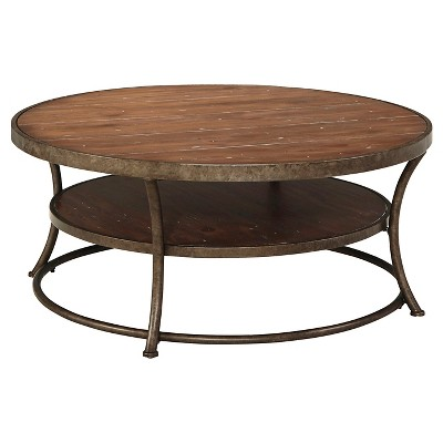 round coffee table round : coffee tables : target PCBWNSZ