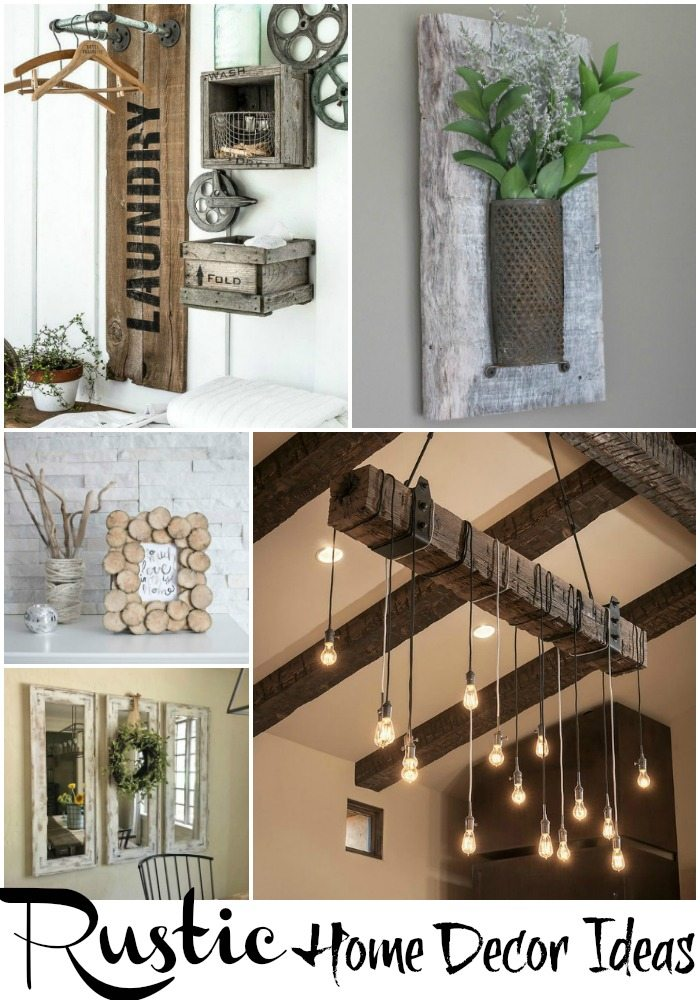 rustic home decor ideas via refresh restyle NNZPXVM