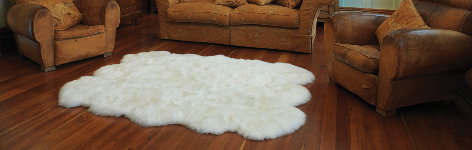 sheepskin rug country sheepskin rugs: rustic u201cshag rugsu201d for your home KSMBNVG