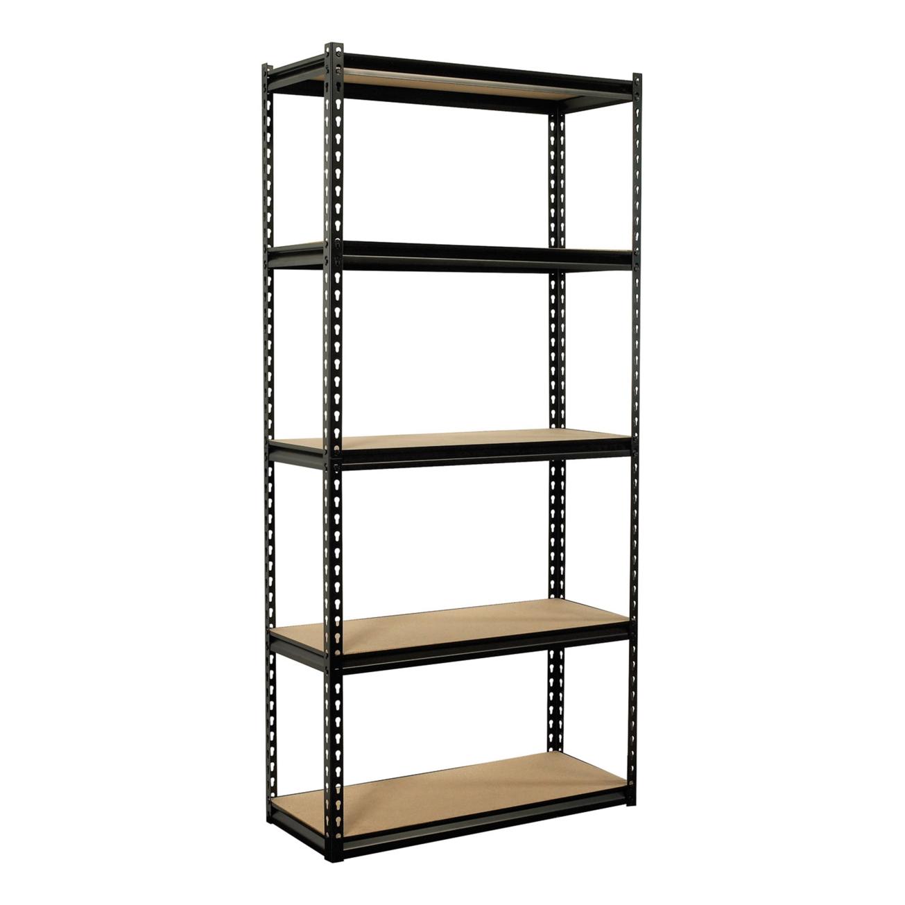 shelving units colossal rack 5 shelf steel shelving unit (csz6-3618-5) - ace RBFXAGQ