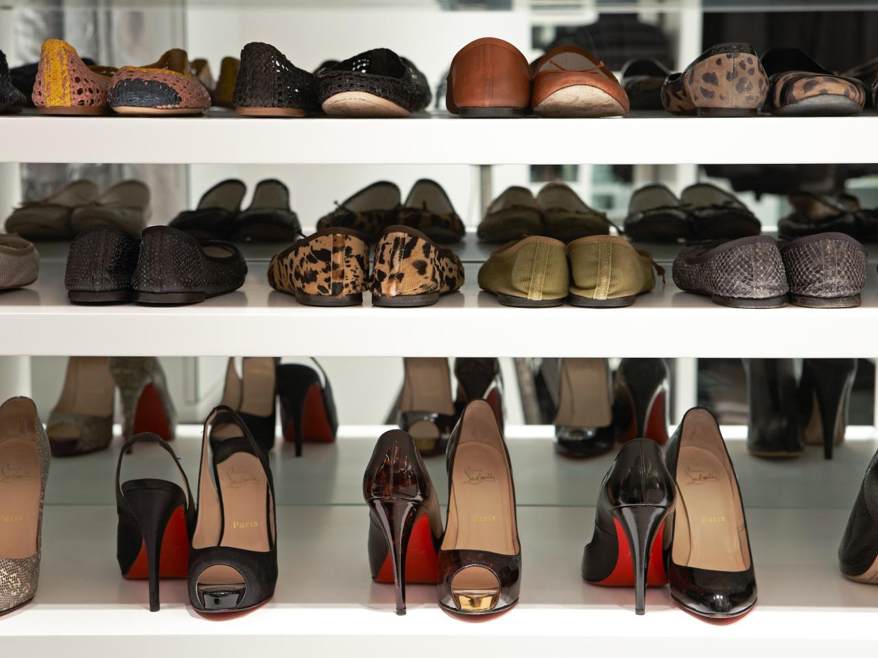 shoe shelves for closets ZOPGPTO