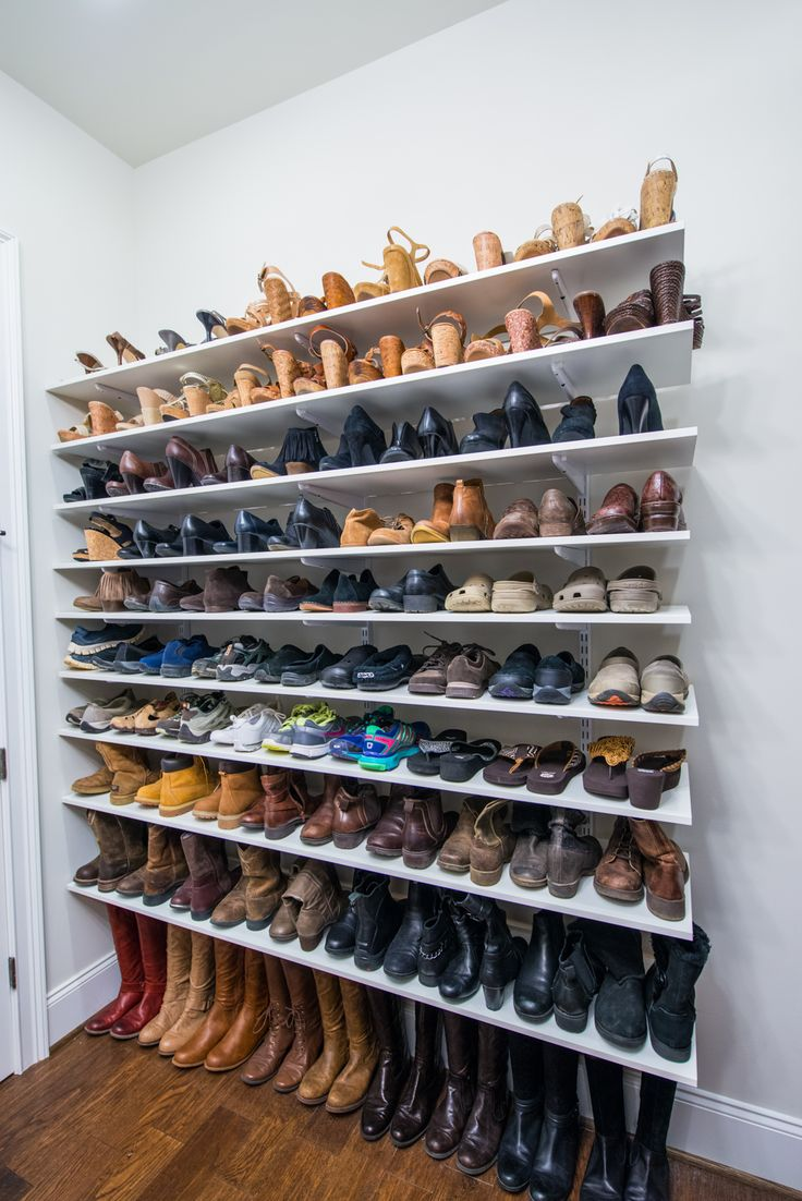 shoe shelves keep your shoes on point with adjustable shelving like organized living  freedomrail. MRLEQPH
