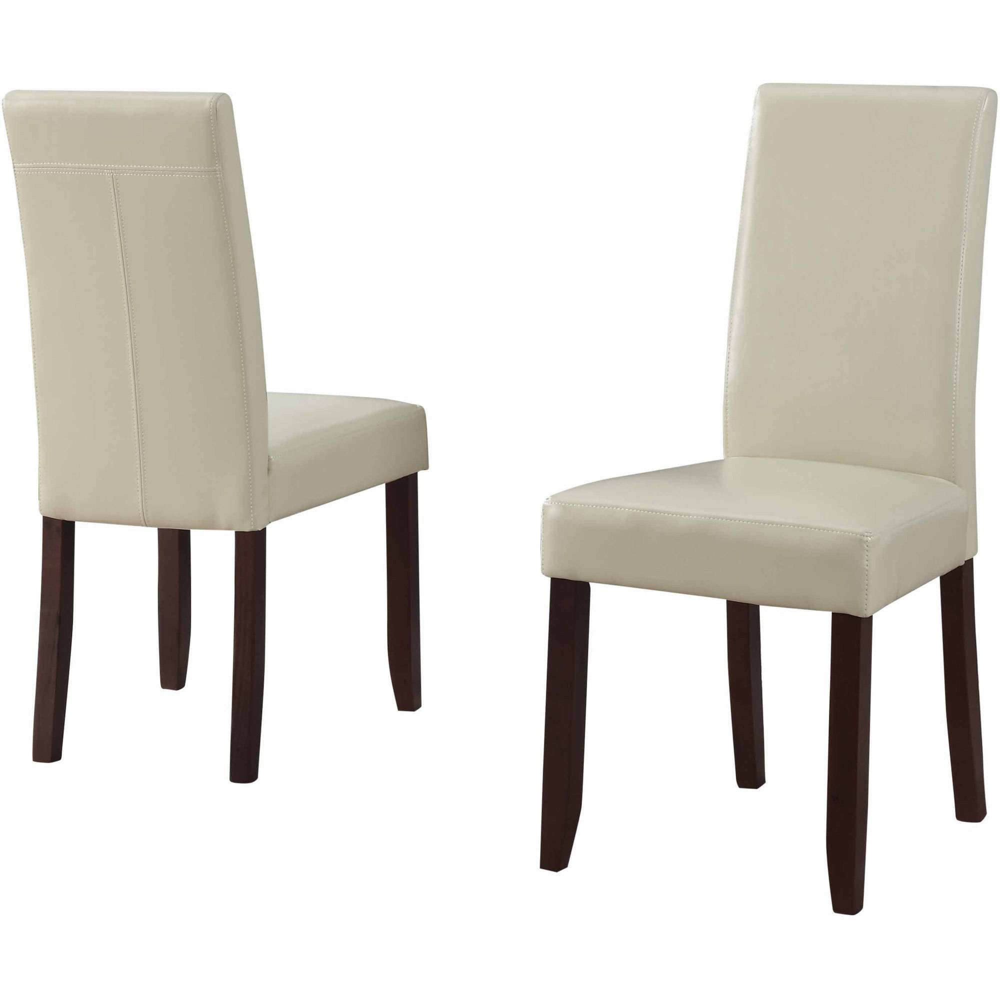 simpli home acadian parson dining chair (set of 2) - walmart.com QJCRKKW