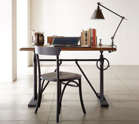 The height adjustable sit stand desks: