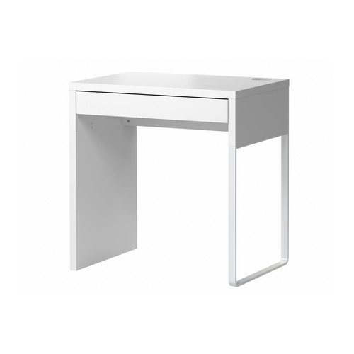 small desk micke desk ikea itu0027s easy to keep cords and cables out of sight ZZJALUW