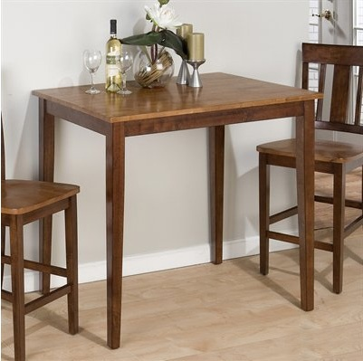 small kitchen tables eating in: square bar tables for small kitchens VCLZMVJ