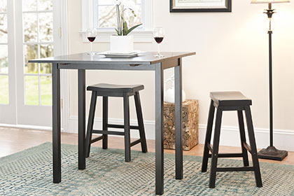 small kitchen tables traditional shapes HCDEYBL