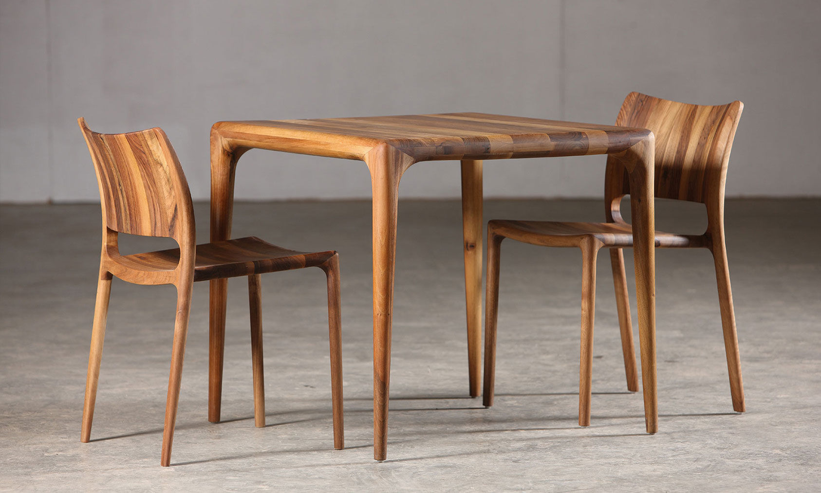 solid wood furniture contemporary chair / oak / walnut / maple - latus by salih teskeredžić CGUQYBH