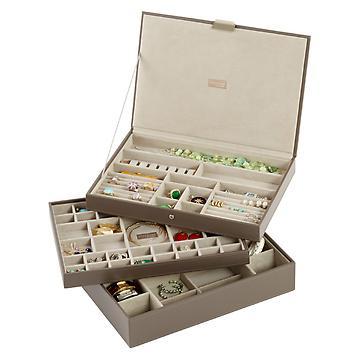 stackers premium jewelry boxes u0026 storage · hanging jewelry organizer TSMEVYV