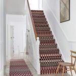 Stylish stair carpet