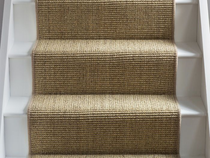 stair carpet sisal super boucle brancaster runner: alternative flooring - carpets, rugs  and runners QCZBXSQ