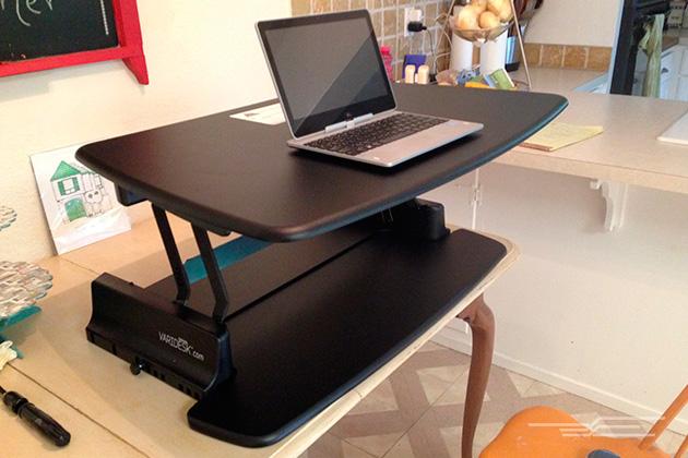 standing desk the best standing desks | the wirecutter VOLNXGY