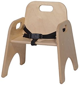 steffy wood products 9-inch toddler chair with strap GTXZGOO
