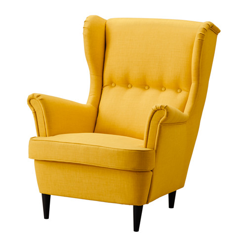 strandmon wing chair ikea you can really loosen up and relax in comfort CXHVZSK