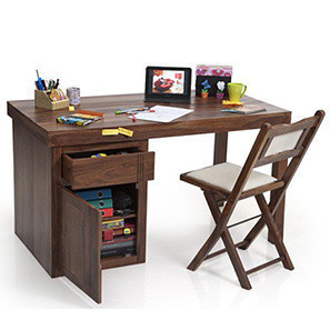 study table bradbury - axis study sets (teak finish) RMUDQFK