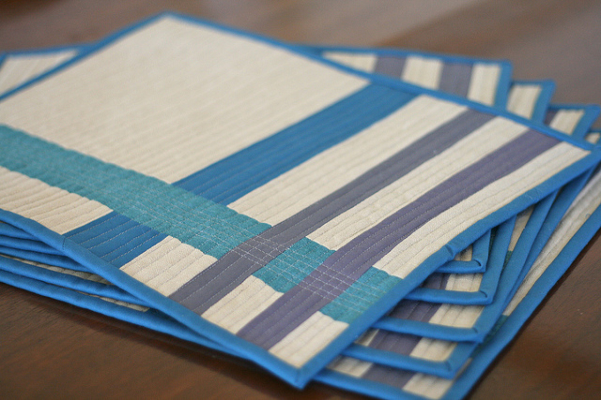 table mats 13 ways to make your own placemats (photos) MCFQWKO