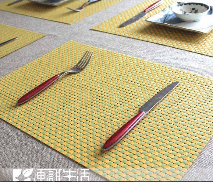 table mats european style dining table mat ... HJYEZBK