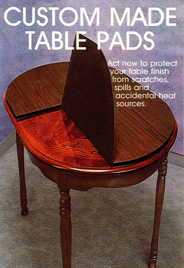 table pads the virginia table pad co. ZRZLTIY