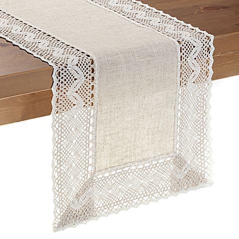 table runners image of pebble lace table runner CMERZZJ
