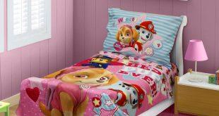 toddler bedding sets babyboom nick jr paw patrol skye best pups ever 4 piece toddler bedding AWTEJSM