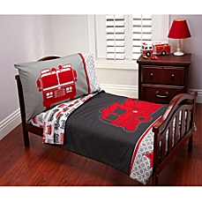 toddler bedding sets image of carteru0027s® fire truck 4-piece toddler bedding set MCPEOOI