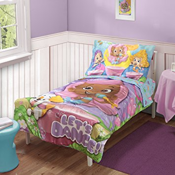 toddler bedding sets nickelodeon toddler bedding set, bubble guppies WBHFYQC