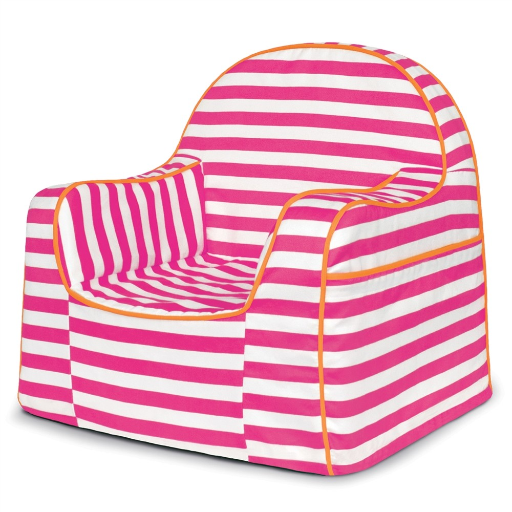 toddler chair - pink stripes - pkfflrrs- pkolino JSZVYAO