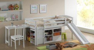 top 10 kids loft beds with slides TTKEYSN
