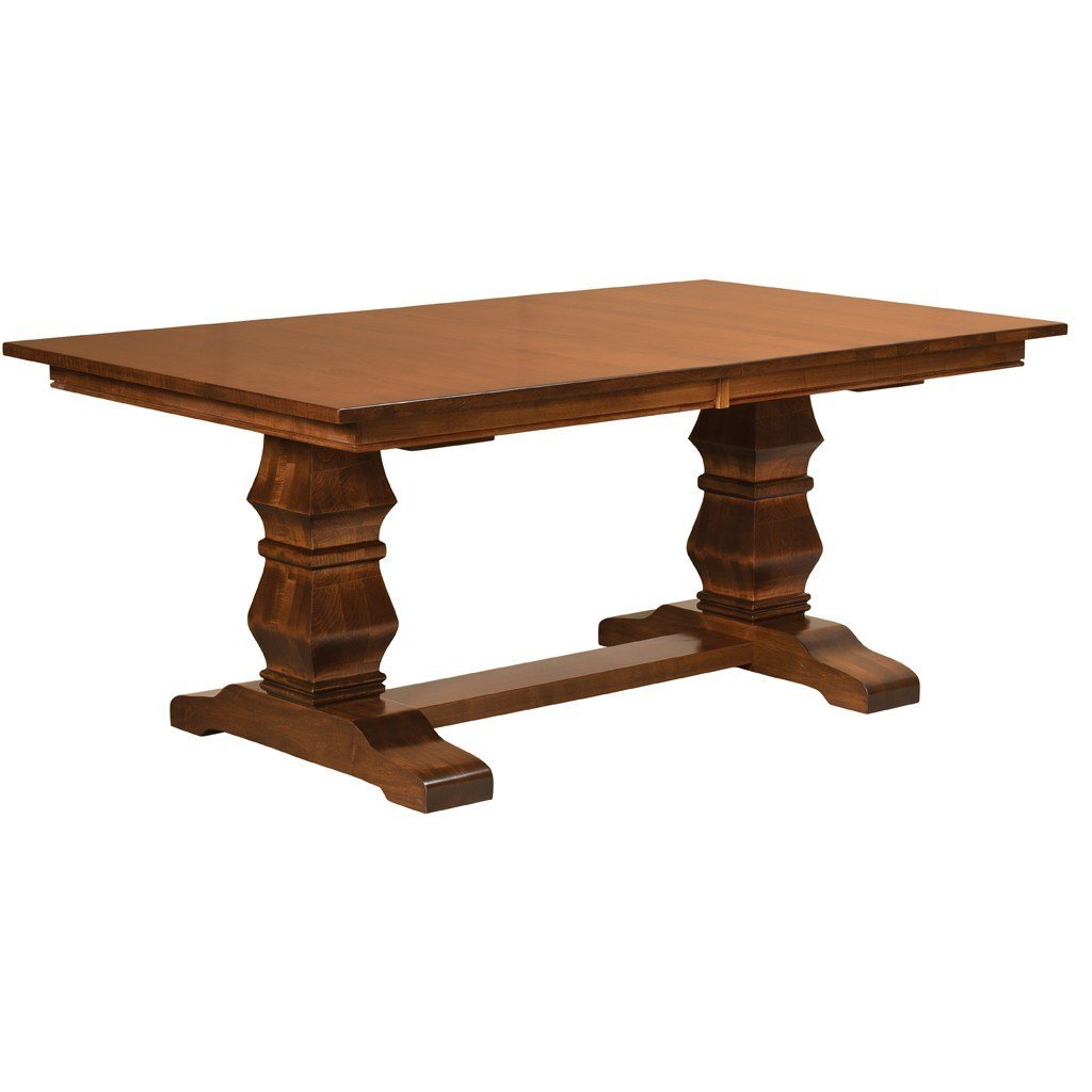 trestle table bradbury trestle extension table - amish tables - 1 ... MIETIBE