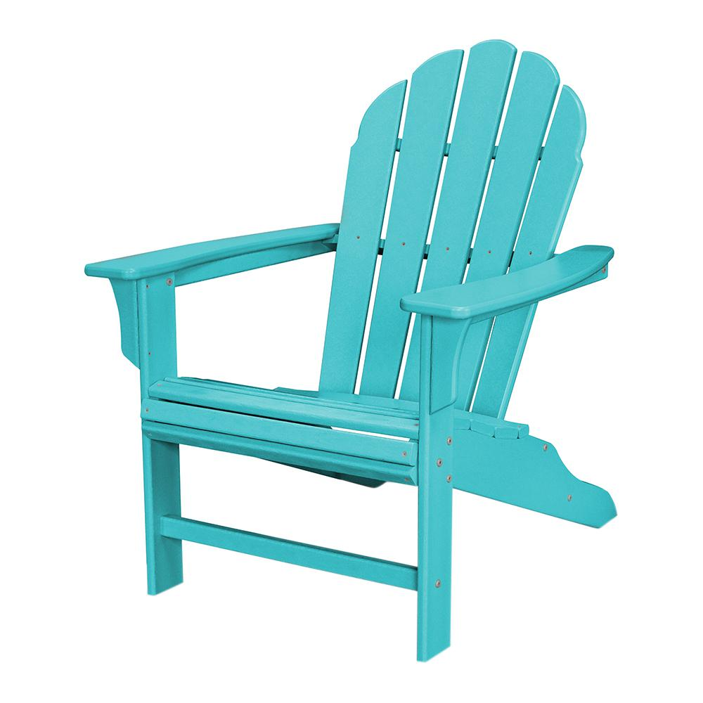 trex outdoor furniture hd classic white patio adirondack chair-txwa16cw -  the home ROHEDCG
