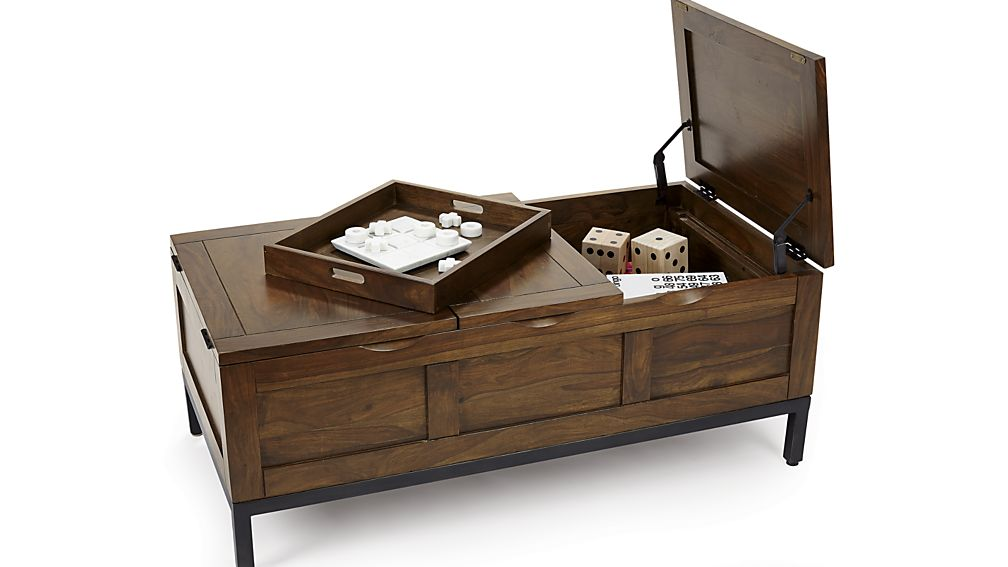 trunk coffee table ... tucker rectangular trunk; tucker rectangular trunk GSNAIYX
