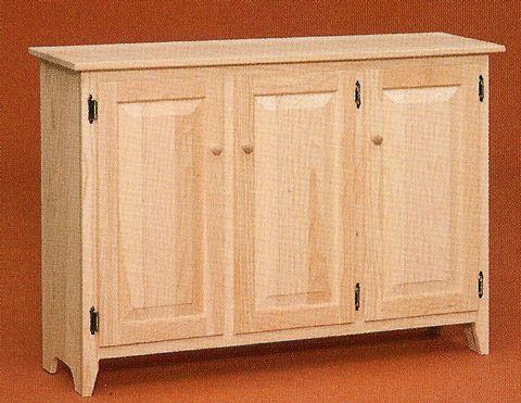 unfinished pine furniture for dining room ZKBRNKE