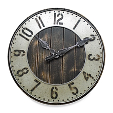 wall clocks image of rustic punched metal wall clock IHBPTKJ