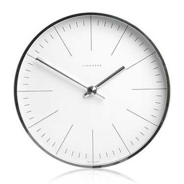 wall clocks max bill modern office wall clock with lines - max bill clocks KMSNVUA