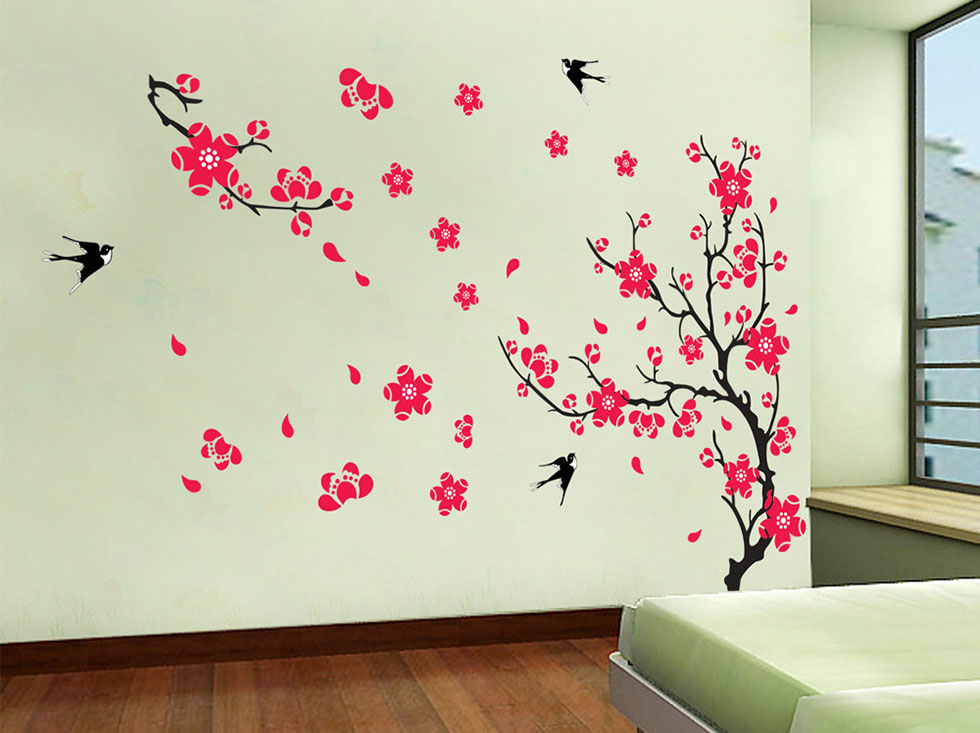 wall paintings flowers wall art - 20 flowers wall art - 20 XYQLPDQ