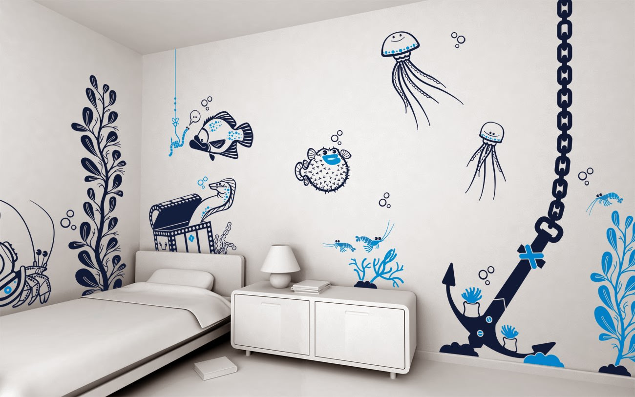 wall paintings interior wall art painting design BBQHAIS