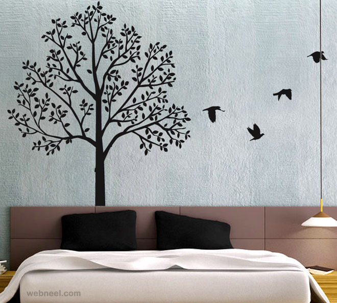 wall paintings wall art ideas tree wall art tree BUGHZOS
