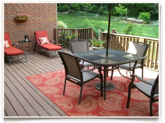 when we first introduced outdoor rugs more than five years ago, we GROEOJF