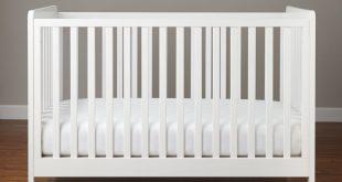 white crib carousel crib (white) | the land of nod XBHOOHX