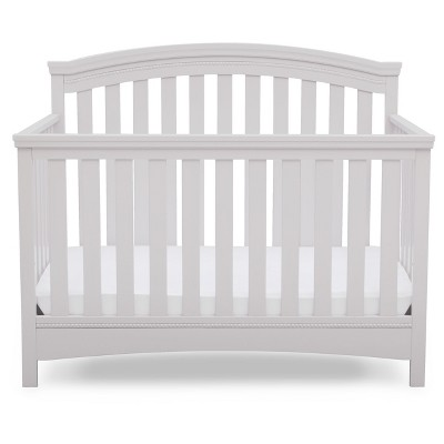 white crib delta children® emerson 4-in-1 convertible crib MLPWCUU