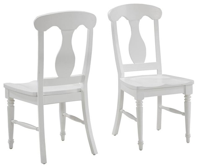 white dining chairs brushed white dining chair pair traditional-dining-chairs EHASAZY