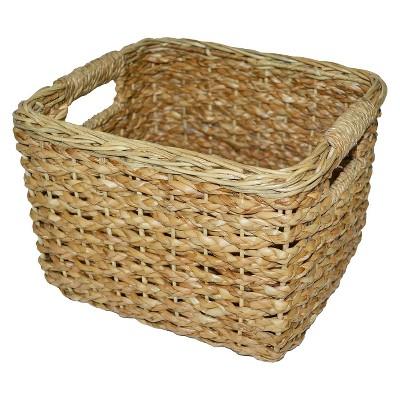 wicker baskets seagrass small square wicker basket - threshold™ RCHJQKF
