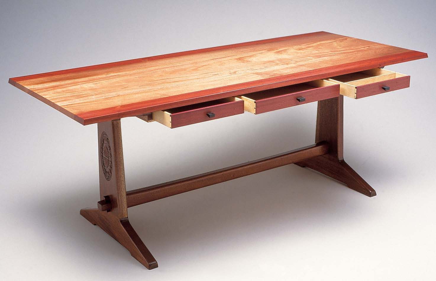 wood furniture 1. design and build a diy trestle table XPFPWUA