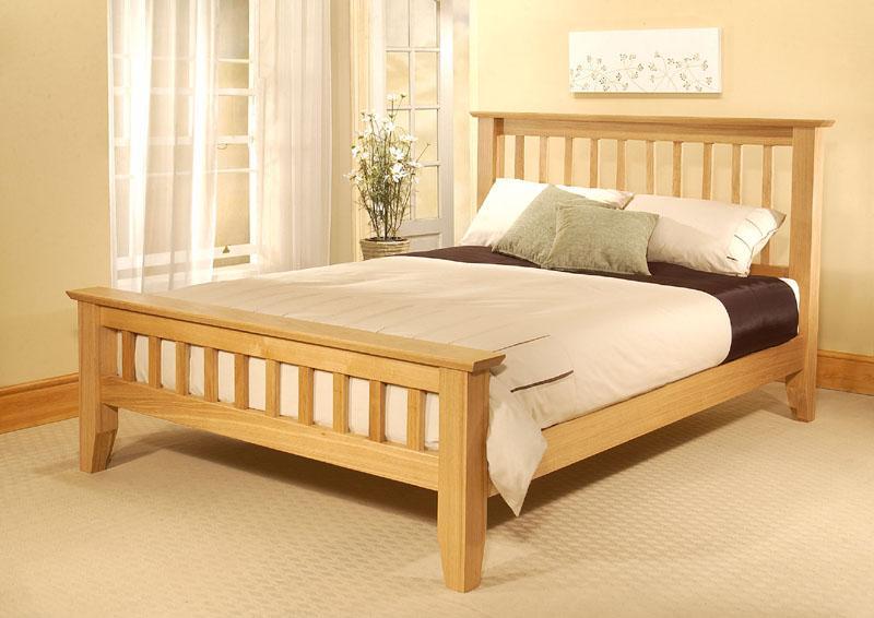 wooden beds king size wooden bed frame MVLLUTM