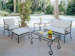 wrought iron patio furniture wrought iron lounge sets IEDFJXK