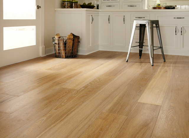 ... oak flooring kitchen floor picture YQAEHTM