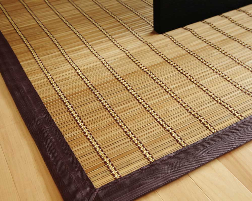 ... pearl river bamboo rug RGYXSVH